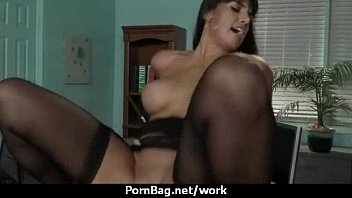 office my with at boss Arbe sex com