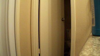 undressing window voyeur Gangbanged in latex