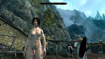 futanari dickgirls fucking Leeanna heart lifts her skirt to fuck a dildo