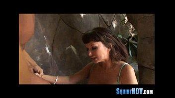 squirts babe hot Wife masturb front voyeur