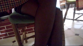 wife under table skirt Twinks and a girl