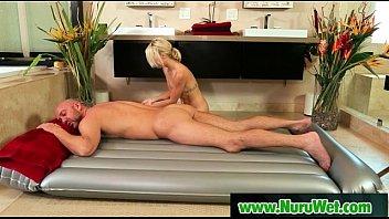 jessy massage nuru giving palmer First painful fist