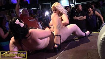 pussyeating lesbian blonde Interview two at same time