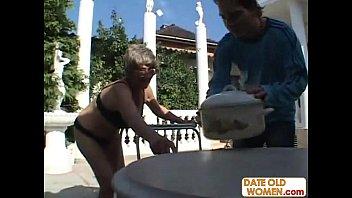 r woman old Smokin hot latinas