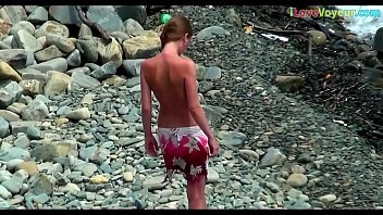 hd beach video voyeur Porn video huh