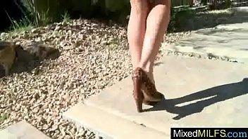 hellfire mae gagahelly lady Italian stockings janitor