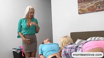 monster doughter and momy share vock Sex techniques video