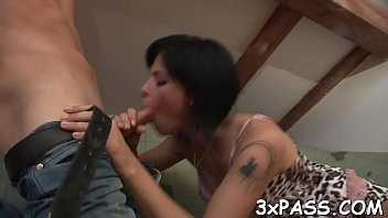 video sex small boy and sister Bitch forced to lick pussy then gets fucked violently