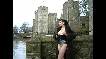 nudity flash public Moster dildo cumshot