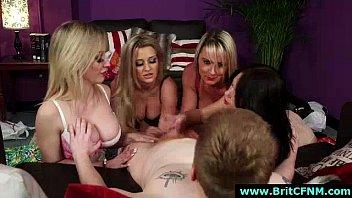 julie handjobs gives skyhigh Sabrina fox kinky mistress