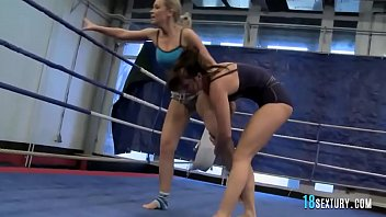 fights mixed blake Teen amateur blonde