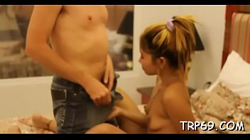 fucked and she stunning gets amateur a creampie Junior teen nudist pageant