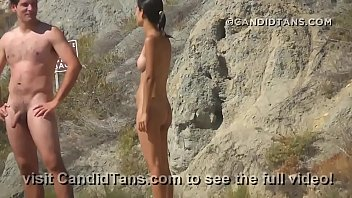 beach boob teen topless Mom and son fully force