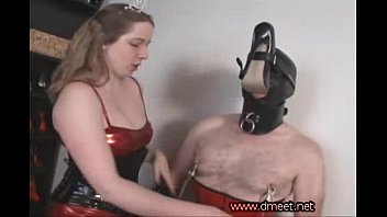 shoe fetish slave Mom breast feeding boy