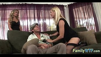 ffm son daughter mom and Abuse outdoor rough