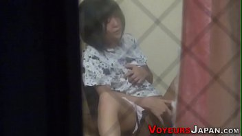 room doors changing under spying 2 men and 1 amateur crossdresser