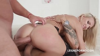 blondie at pool gets fucked the anally Pov tattoo blowjobs