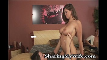 sharing wife blind folded Cougar fucks at frat party