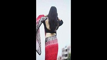 smitha blouse silk Standing ebony fuck5