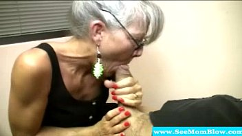 fucked sucks tits cock mom and with mature gets xxl Full hyapatia lee
