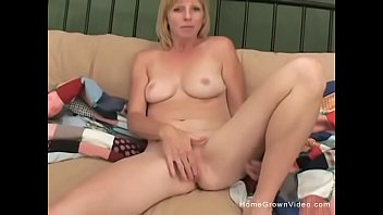 milf boy takes Hot chick stripping and masturbating