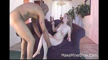 the takes black sporty shaft at blonde gym Lingerie ass cumshot