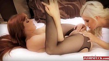 fingering blonde granny in stockings black Mother lovers society vol 1