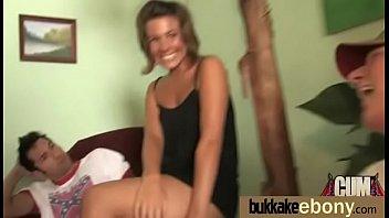 ashley face cum ebony Babe love to play her dildo hd