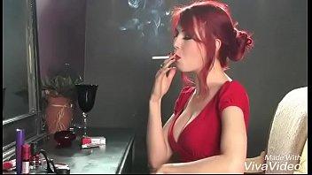 dragginladies 480 fetish hd smoking compilation 5 Tranny shemales enjoy dildo session