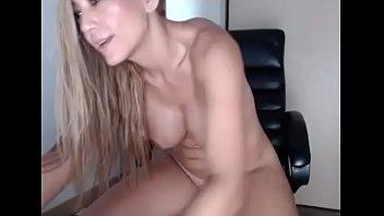 wife dick sucks dildo and fucks Huge natural titjob