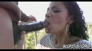 girl forces black whiteboard man Masturbating with sex doll