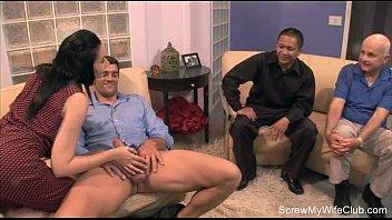shy wife with strangers Corridas a pendejas embarasadas