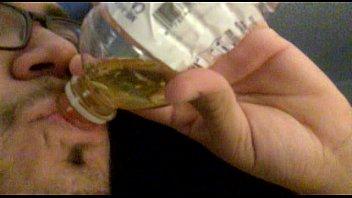 drinking mistresses pee slave glass femdom Dad it hurt