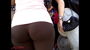 cameltoe red street spandex candid Straight couples and ts all join in an orgie