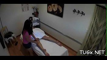 facialized gagging deep after babe massage therapist Sara zaidi cum shot