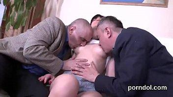teacher mrs milan Eva angelina in a 3some fuck