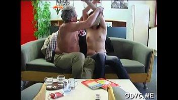 part up maid mama gets nasty all sexed Precum play hot cumshot