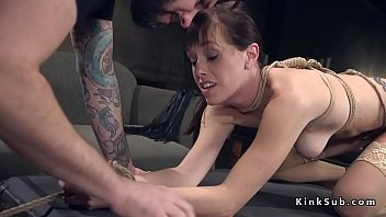 submissive wife husband with 3d girl fucked by too large cock