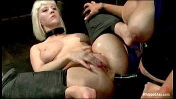 3 cherry blondes blacks on torn Abusando da gatinha