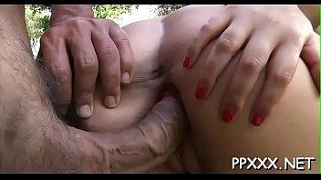 blonde beautiful sockjob footjob giving hot Older wife sunbathing in panties10