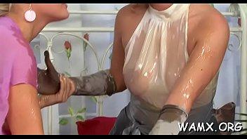 my lesbian female teacher pet Housekeeper seducing to owner