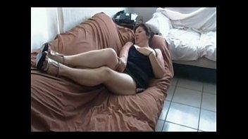 on red sofa leone suny Big cock surprice
