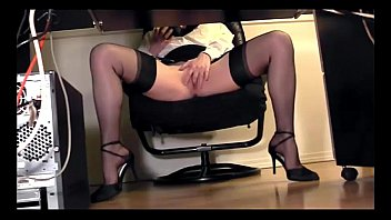 under dailymotion5 squeeze desk masterbation thigh Ass pussy and foot whorship slave part 1