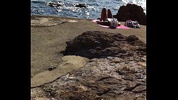 voyeur hd beach video Demi scott hardcore