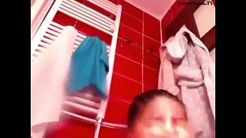bathroom boy caught Swinger orgy wife swap