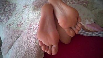 feet mom cum drunk Teen trinity anal