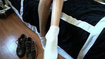 toes long very Black grandma naked