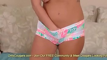 strips hot herself flv and 2 redhead fingers Pov virtual sister